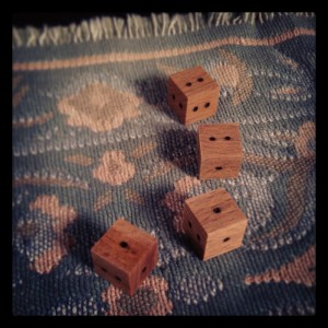 Geomantic Dice