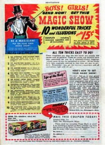 1940's Magic Set Advertisement